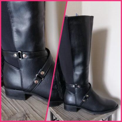 boots, laarzen, ruime kuitwijdte, elegant